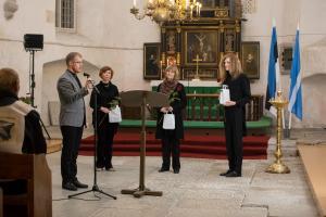 Marek Roots, Pille Metsson, Marika Pabbo, Kristjan Kannukene